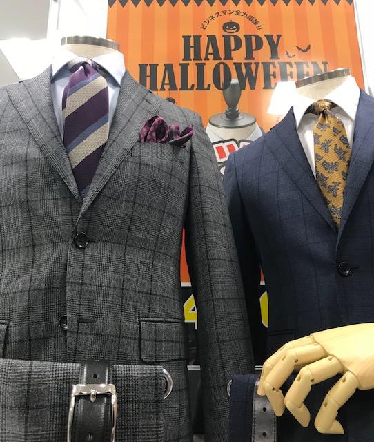 【今人気チェック柄スーツのススメ】SUITS&SUITS北上尾店