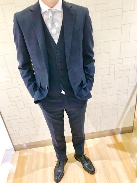 【ブライダルコーデ、スタッフおすすめスーツ】SUITS&SUITS 草加マルイ店