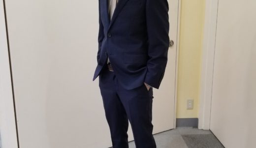 【クールビズが始まる前に、ほしい1着 / マイクロチェック柄スーツ】SUITS&SUITS住道店