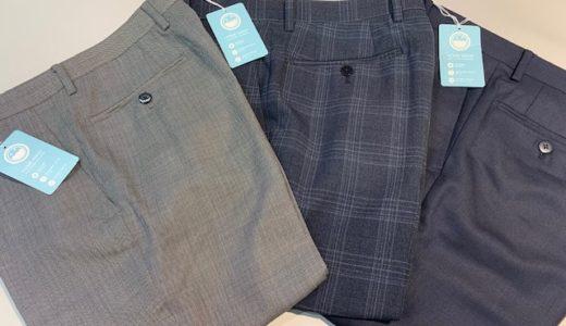 【夏の洗えるパンツ特集】スーツ&スーツ肥後橋店