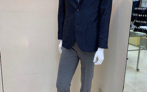 【スタッフが欲しい一押しジャケット&パンツ】SUITS&SUITSつかしん店
