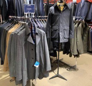 【コート入荷!冬に向けて早めの準備】スーツ&スーツ新橋店